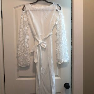 White dress- pic listed is me wearing it in pink.